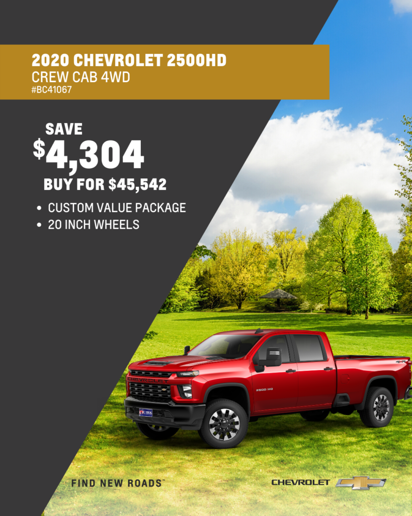 New 2020 Chevrolet Silverado 2500HD 4WD