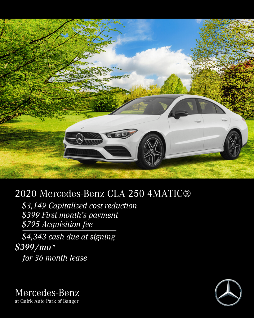 New 2020 Mercedes-Benz CLA 250 4MATIC® AWD