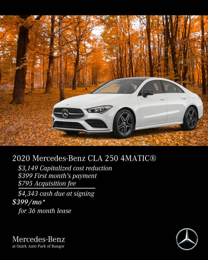 New 2020 Mercedes-Benz CLA 250 4MATIC® AWD