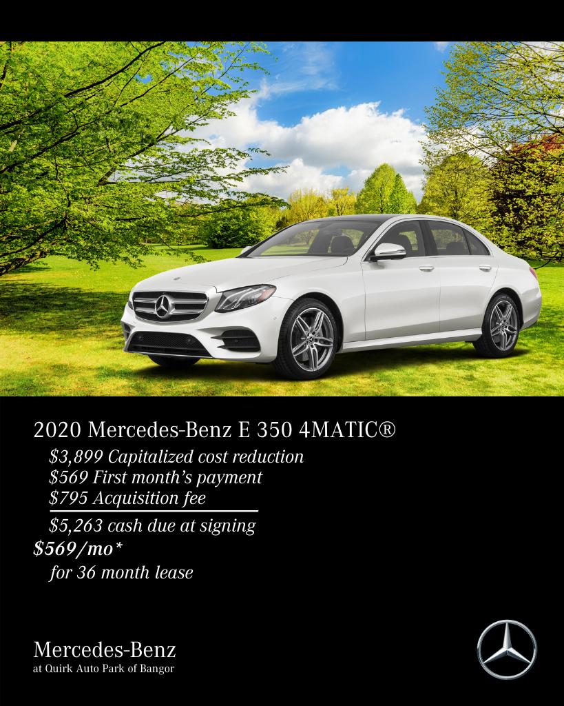 New 2020 Mercedes-Benz E Class E350 AWD 4MATIC®