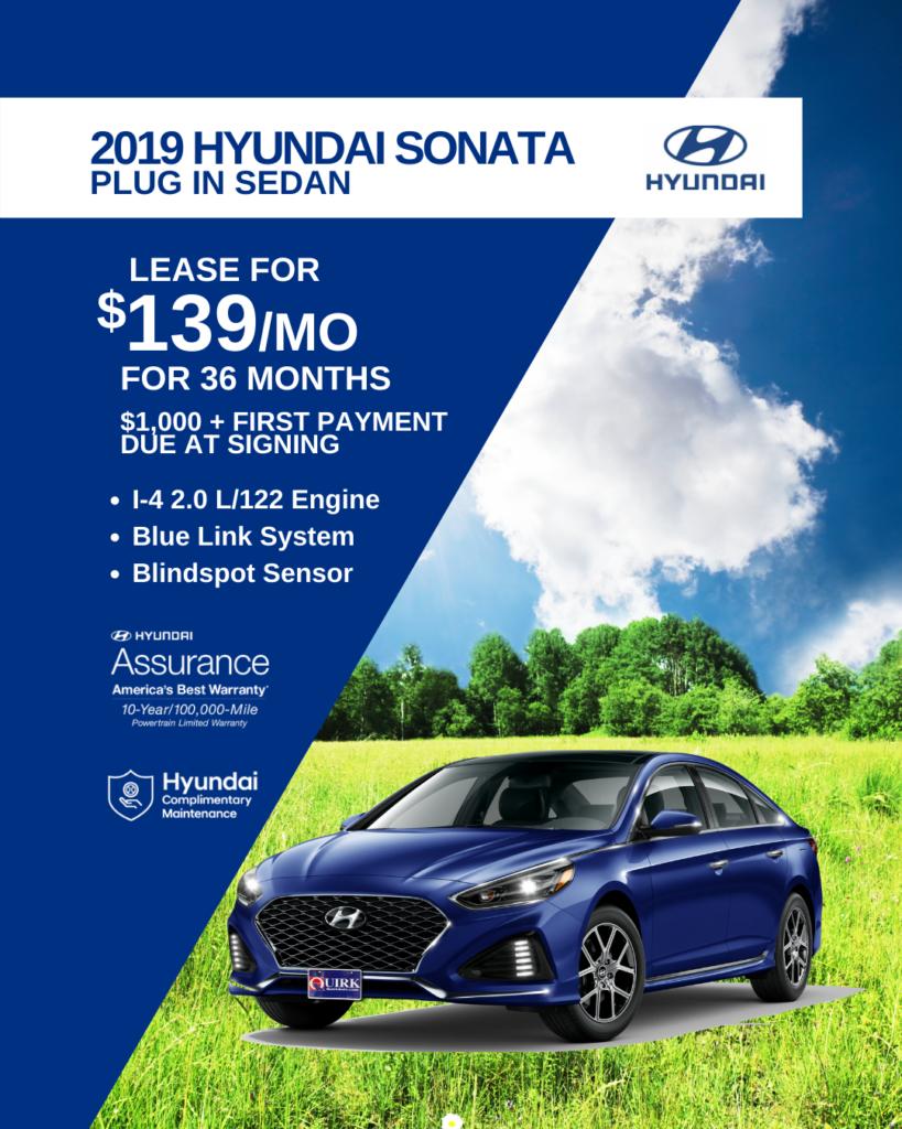 New 2019 Hyundai Sonata Plug-In Hybrid FWD