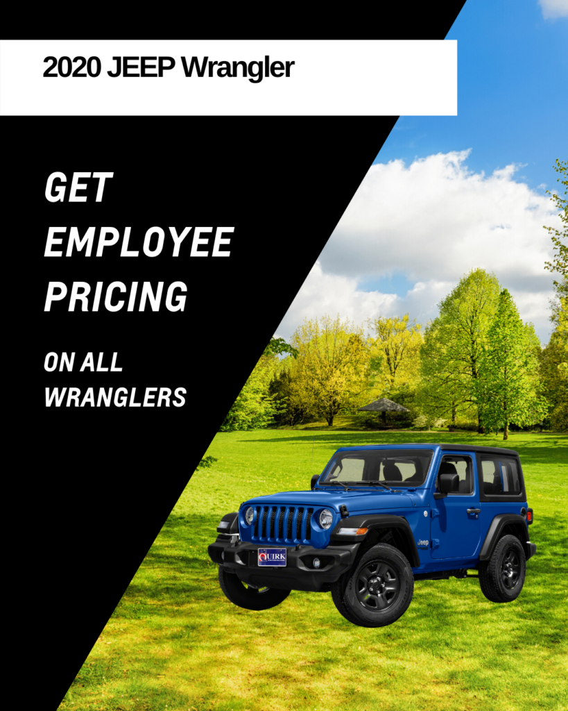 Get Employee Pricing On All Jeep Wranglers