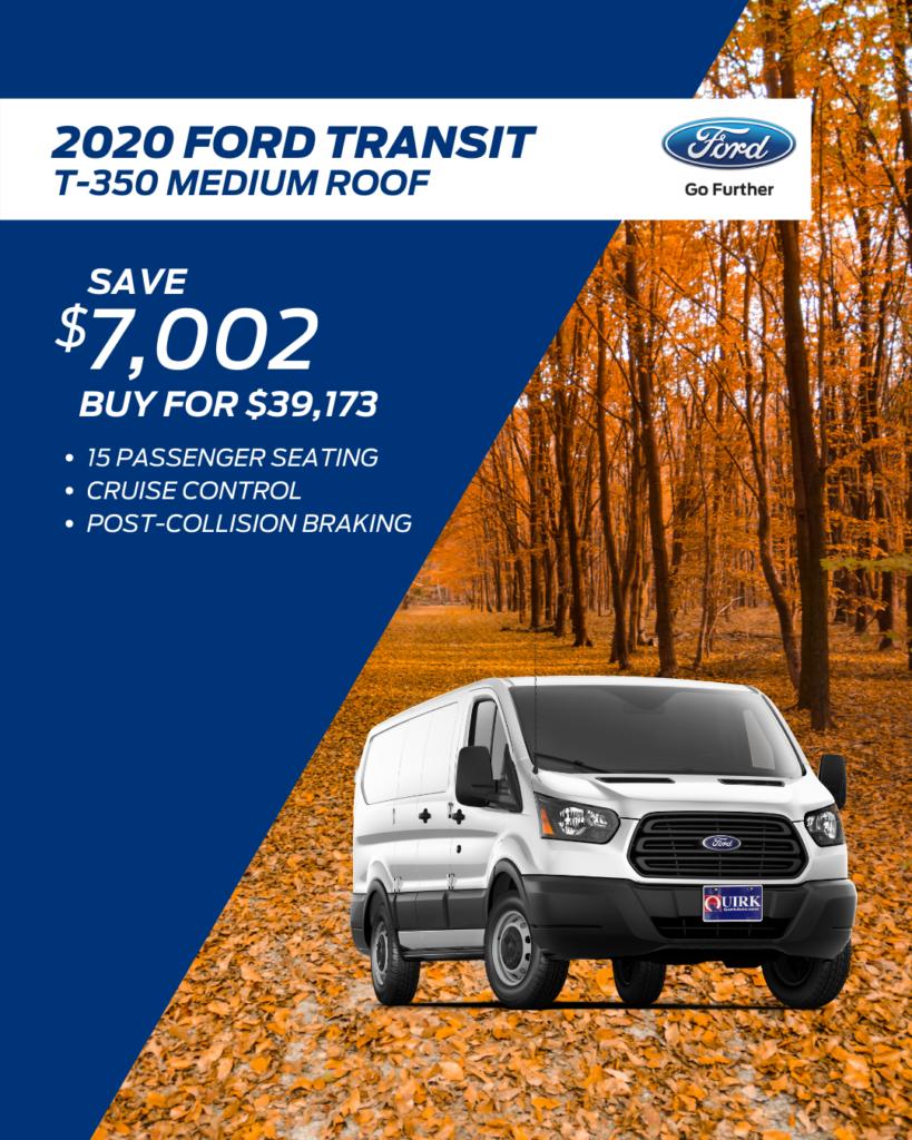 New 2020 Ford Transit F-350 Passenger Wagon RWD Full-size Passenger Van