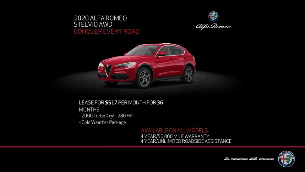 2020 Alfa Romeo Stelvio AWD SUV