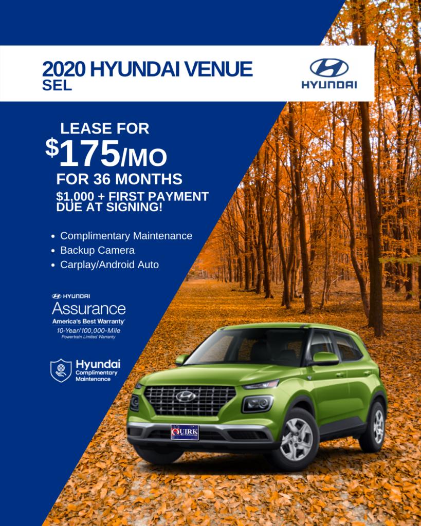 New 2020 Hyundai Venue SEL FWD Sport Utility