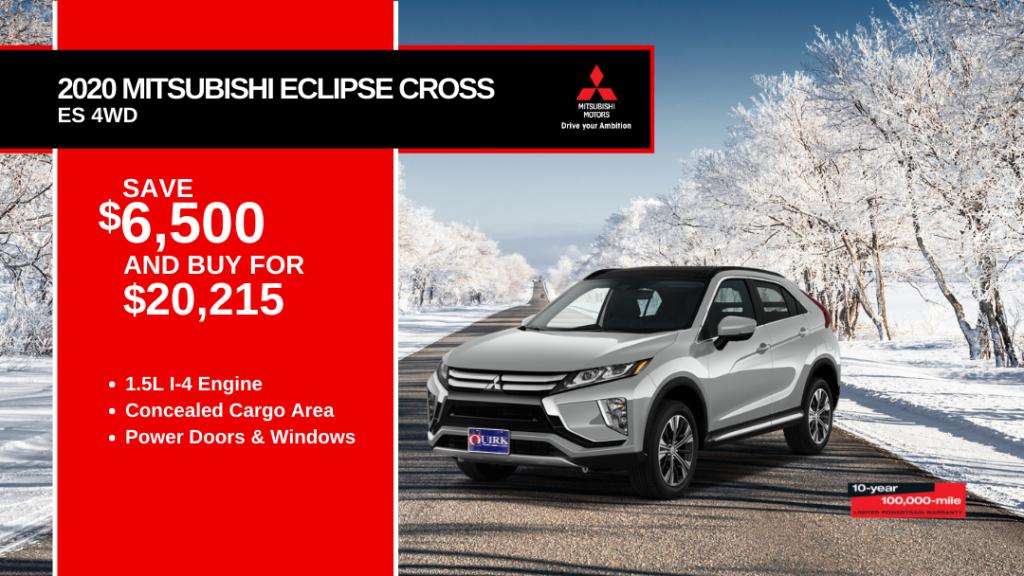 New 2020 Mitsubishi Eclipse Cross ES 4WD