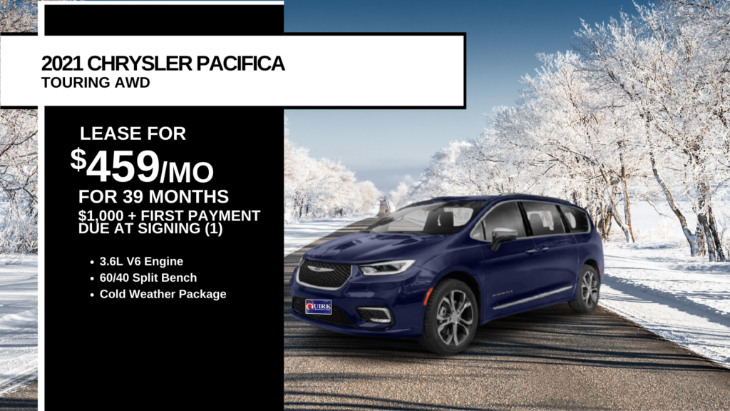 New 2021 Chrysler Pacifica Touring AWD