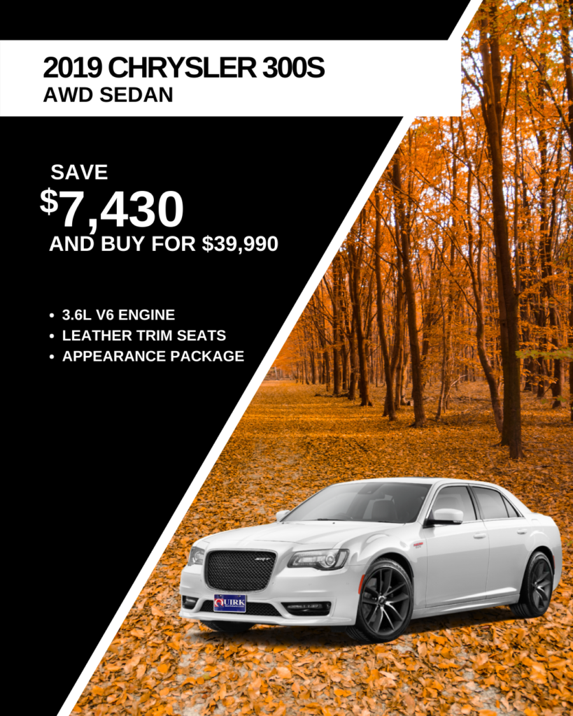 New 2019 Chrysler 300 300S With Navigation & AWD