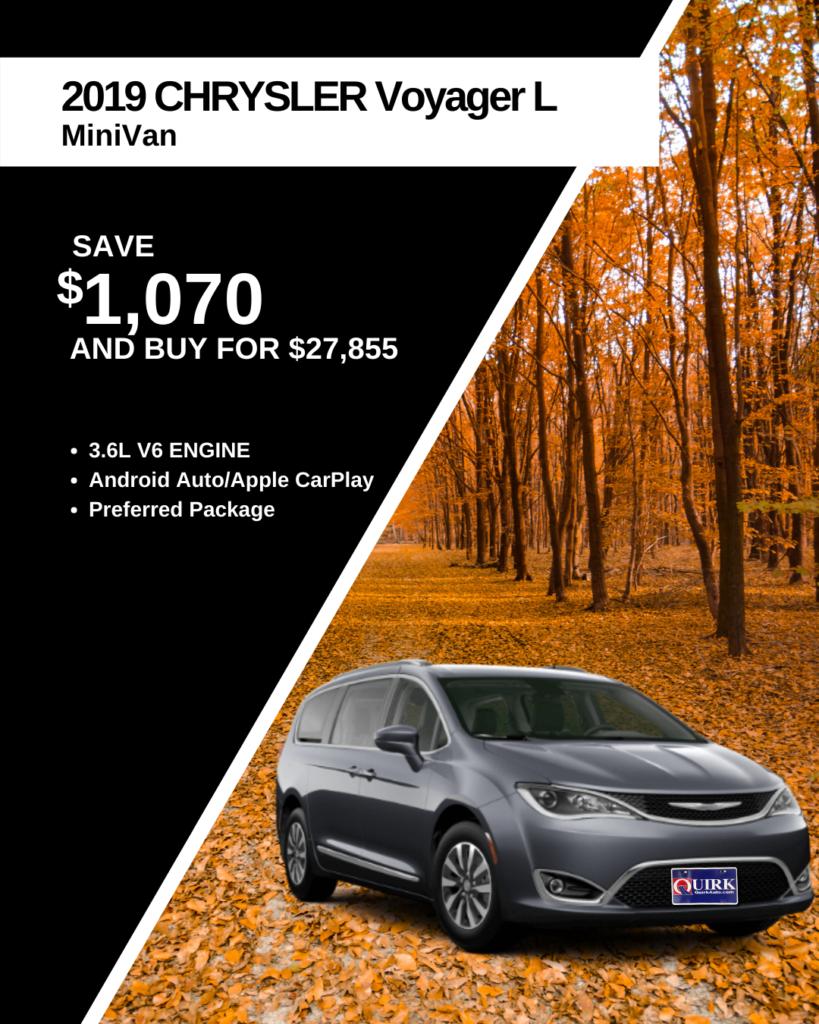 New Chrysler Voyager Offer