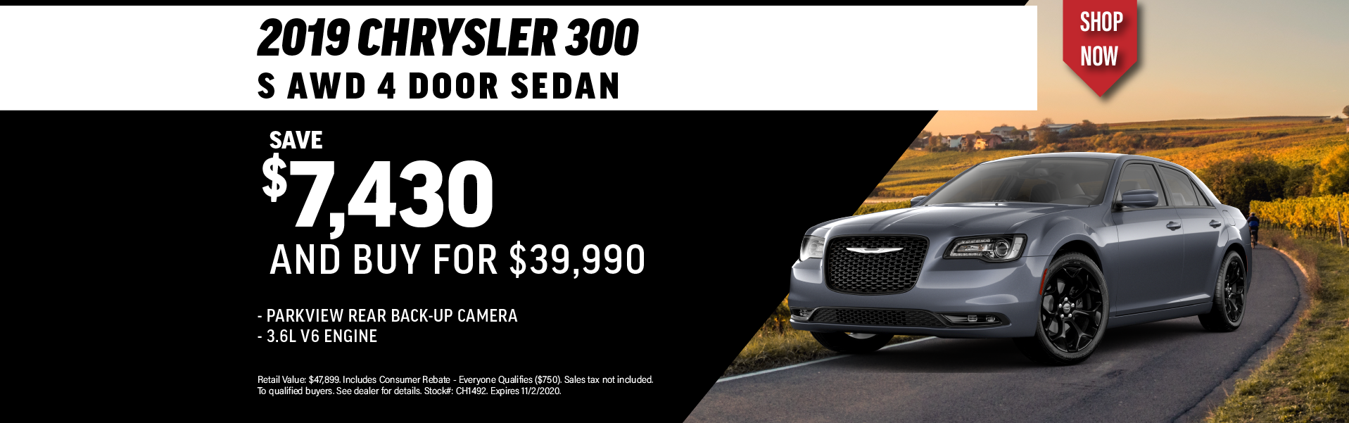Quirk 2019 Chrysler 300- October 2020