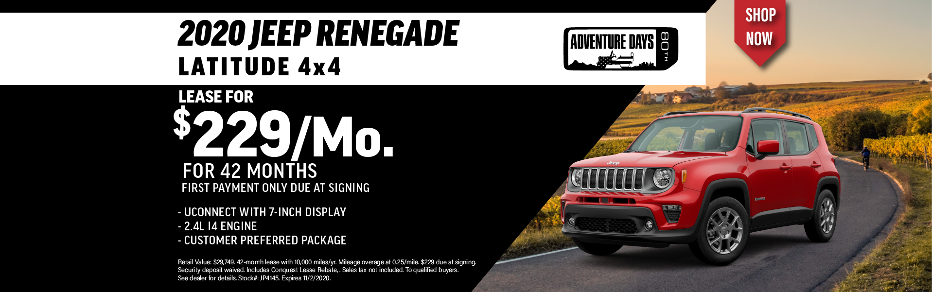 Quirk 2020 Jeep Renegade- October 2020
