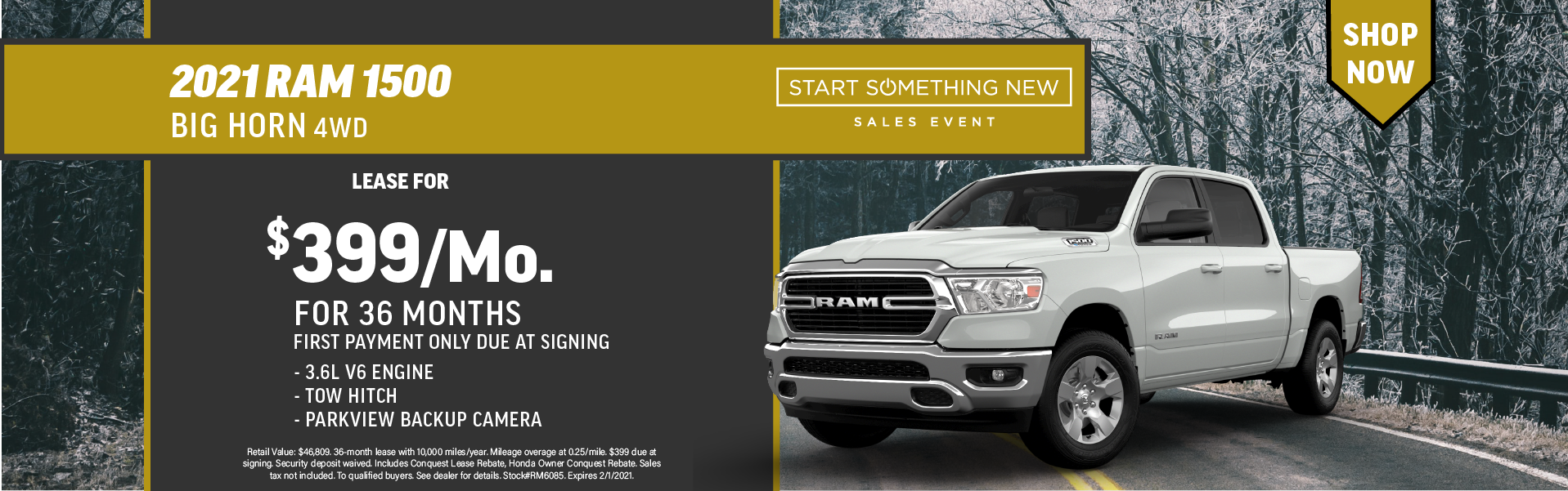 Quirk 2021 Ram 1500- January 2021