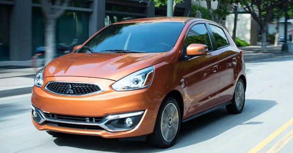 New 2019 Mitsubishi Mirage FWD Hatchback