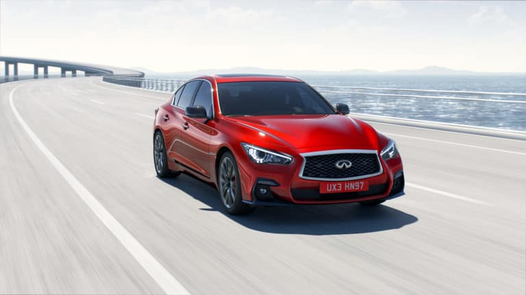 2019 Infiniti Q50 See What S New For This Luxury Sedan