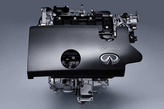 INFINITI VC Turbo Wards 10 Best Engine