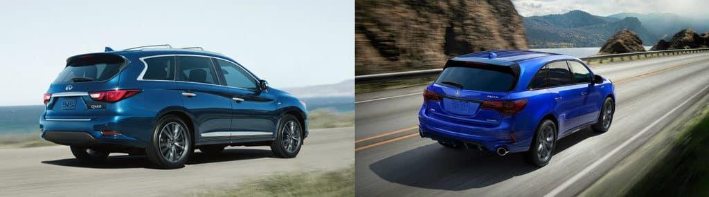 INFINITI QX60 vs Acura MDX