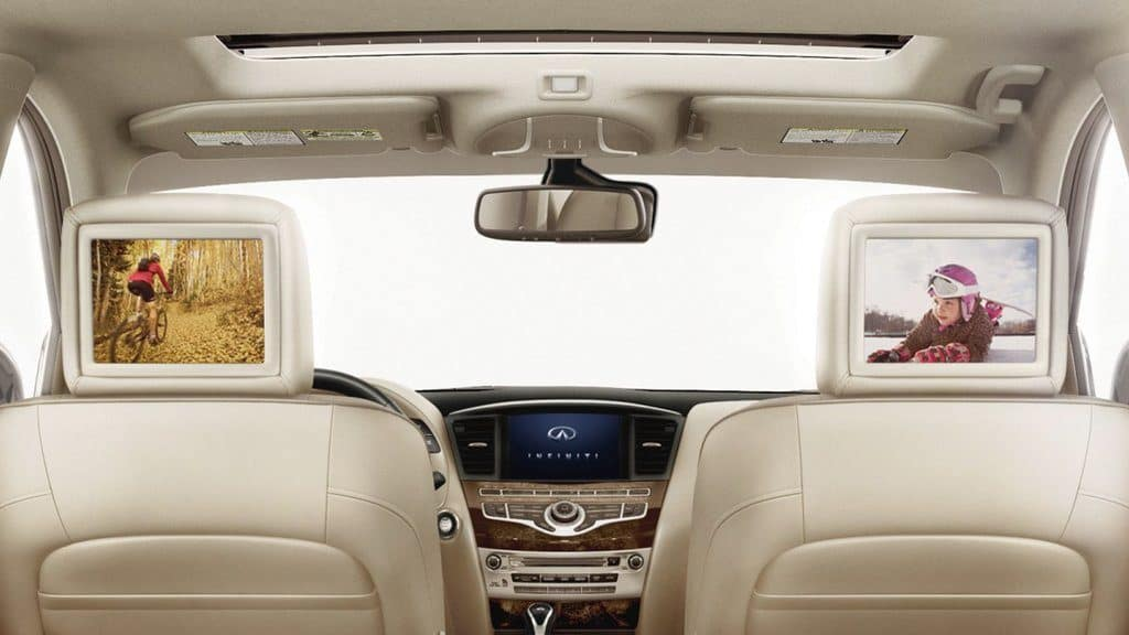 INFINITI Rear Entertainment System