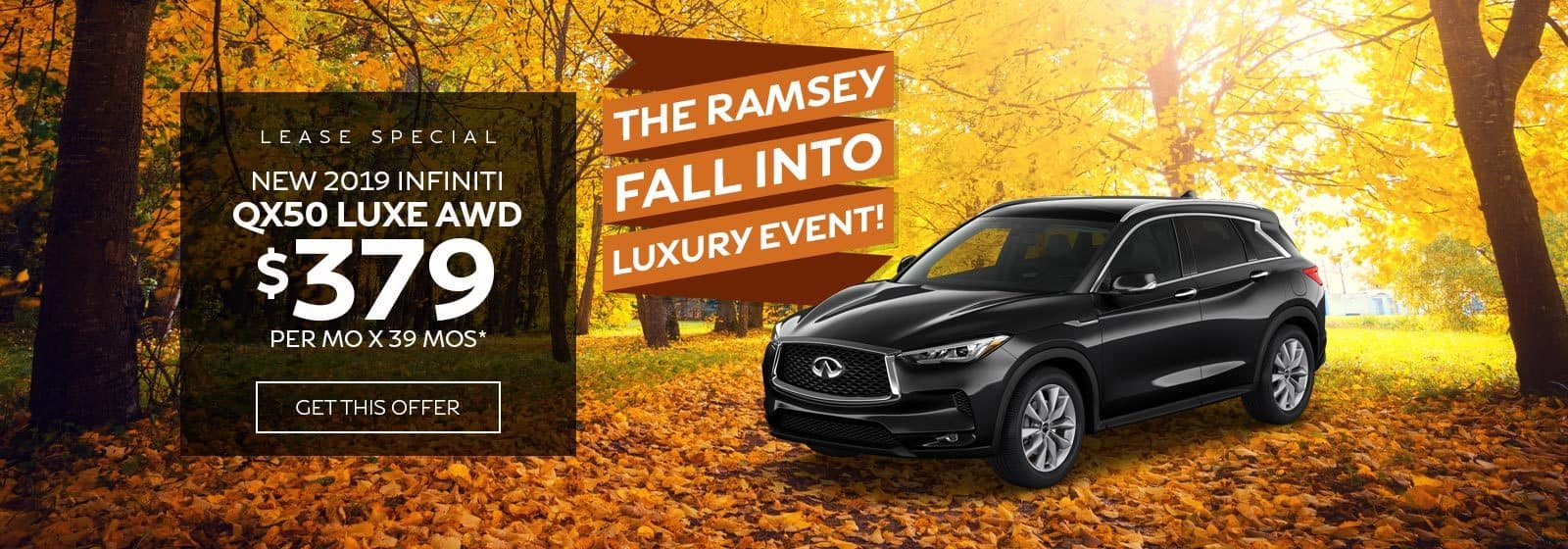 ramsey infiniti coupons