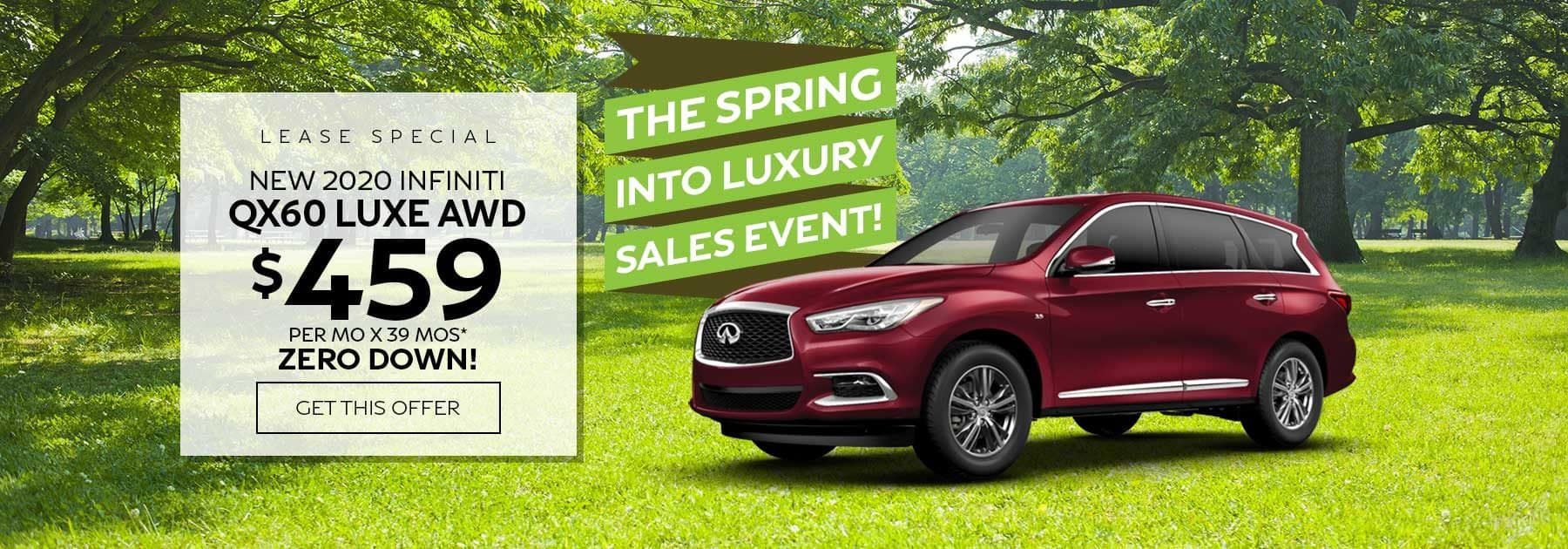 Ramsey INFINITI QX60 lease special