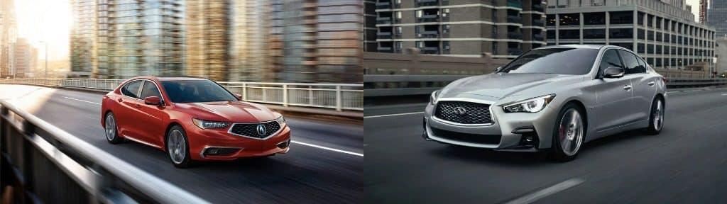 Acura TLX vs INFINITI Q50
