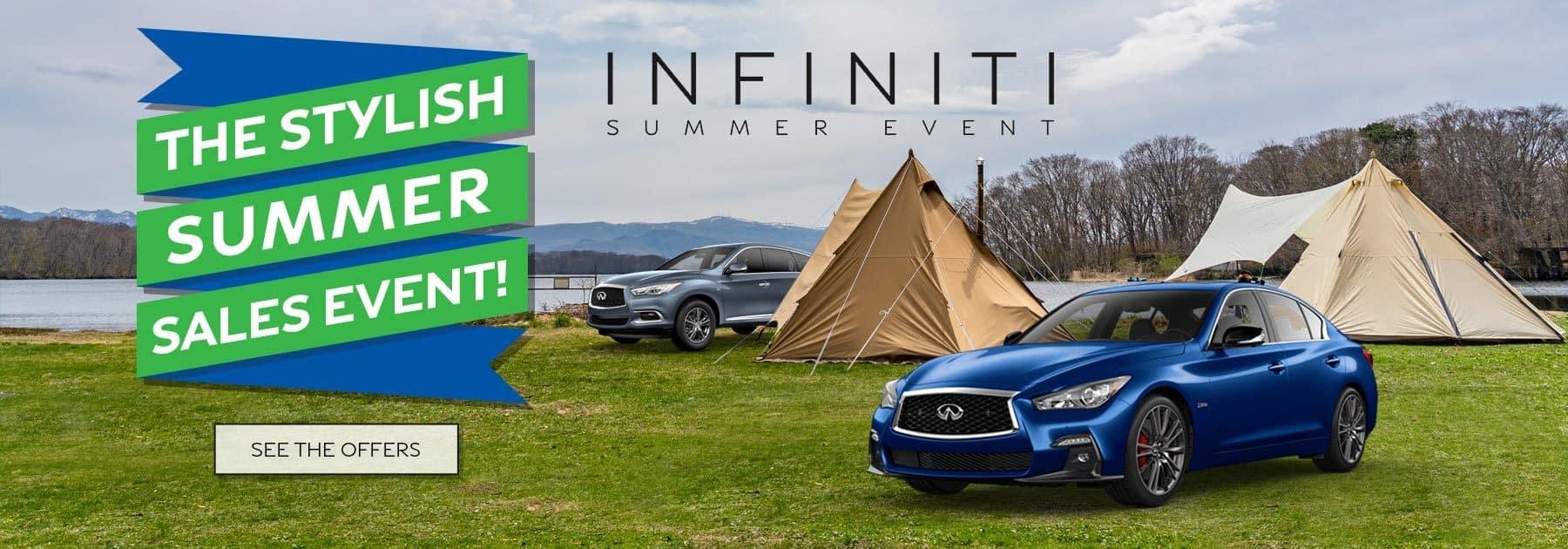 The Stylish Summer Sales Event Ramsey INFINITI