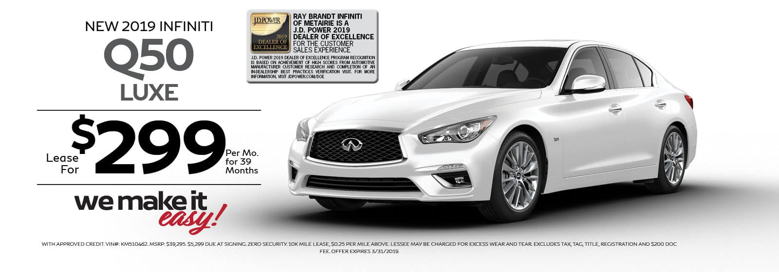 Q50 LUXE SPECIAL