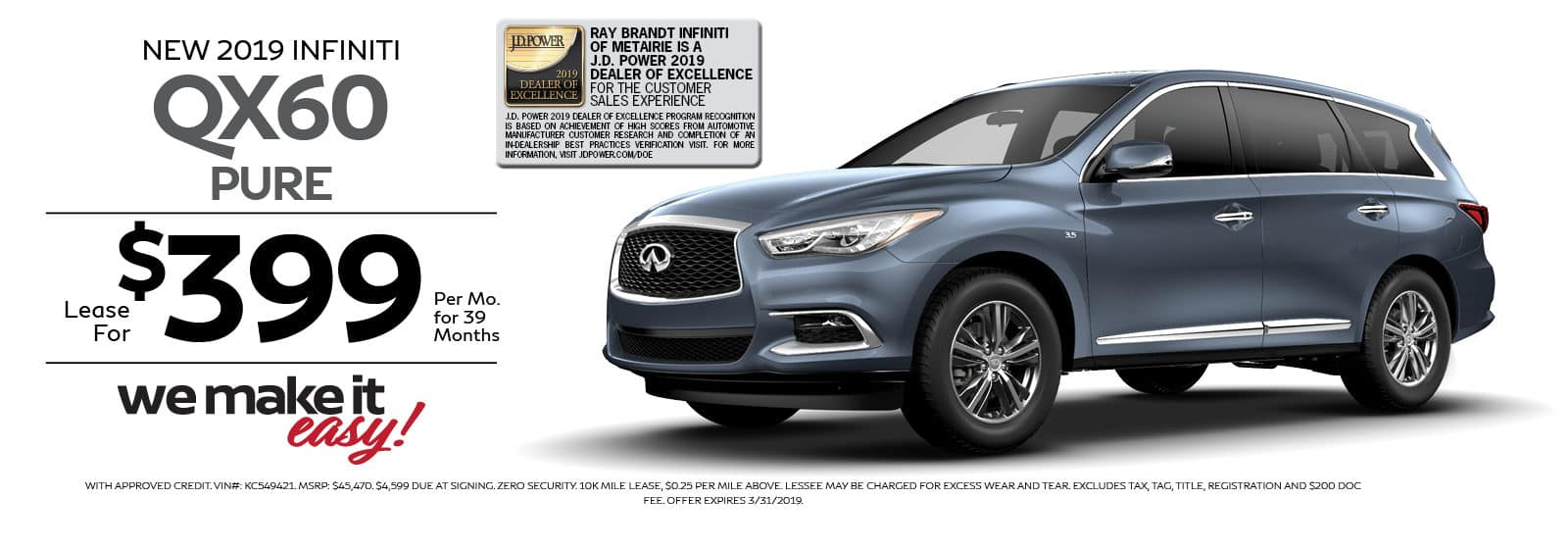 QX60 PURE SPECIAL