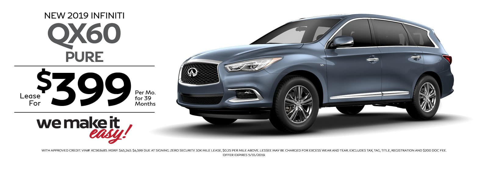 RAY BRANDT INFINITI QX60 SPECIAL