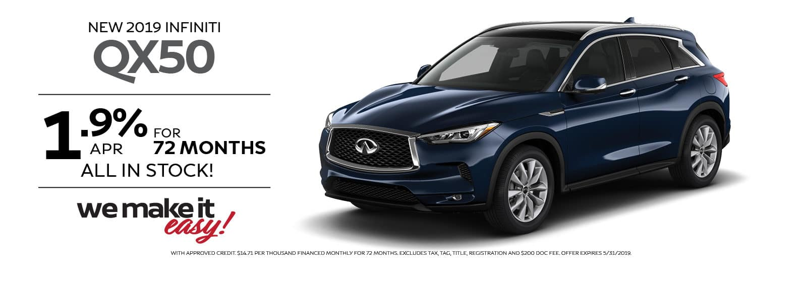 RAY BRANDT INFINITI QX50 SPECIAL