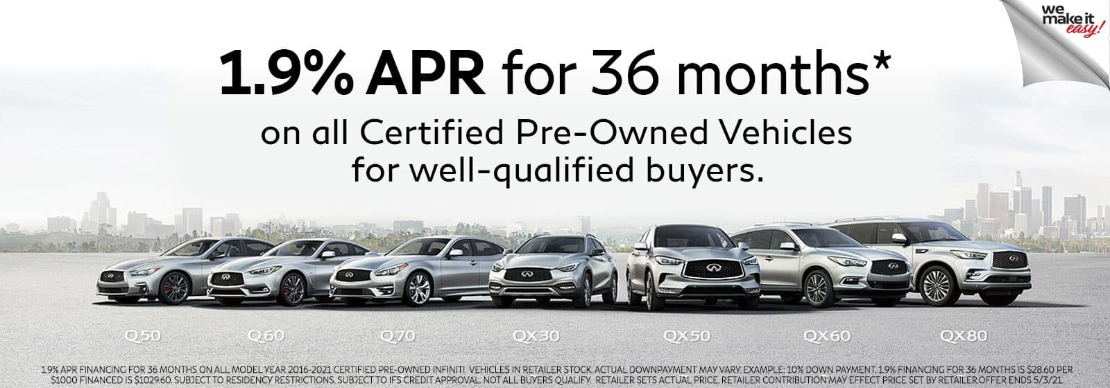 Used Cars Certified Pre-Owned INFINITI