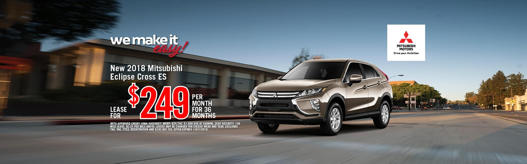 ECLIPSE CROSS LEASE SPECIAL