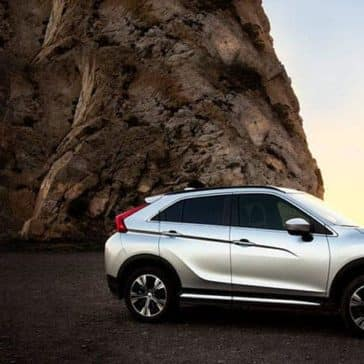 2019 Mitsubishi Eclipse Cross over sunset