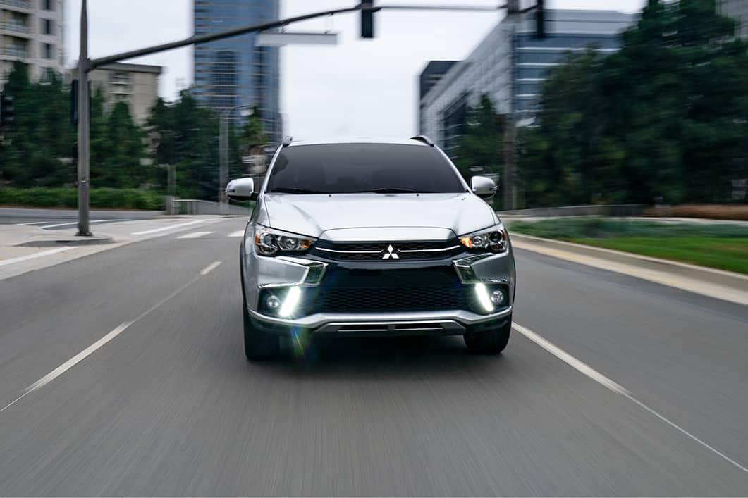 2019 Mitsubishi Outlander Sport LED daytime running lights