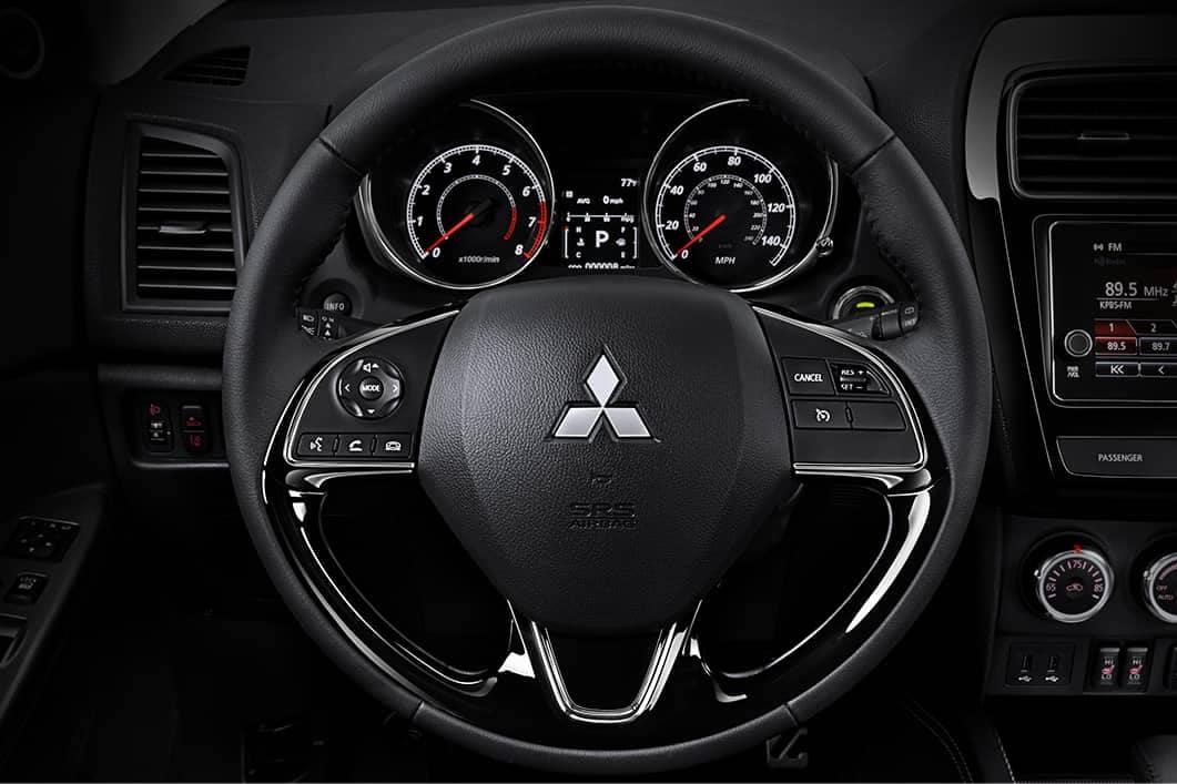 2019 Mitsubishi Outlander Sport steering wheel