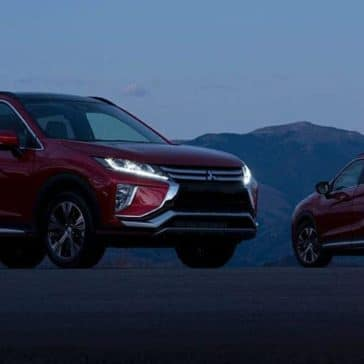 2019 Mitsubishi Eclipse Cross at night