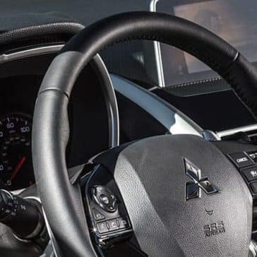 2019 Mitsubishi Eclipse Cross steering wheel