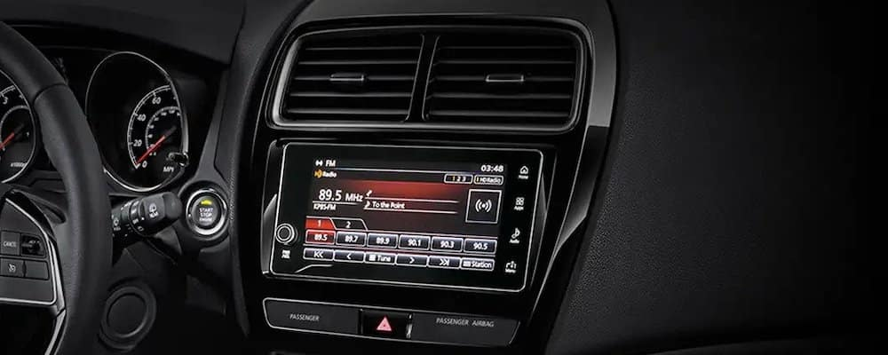 2019 Mitsubishi Outlander Infotainment Screen