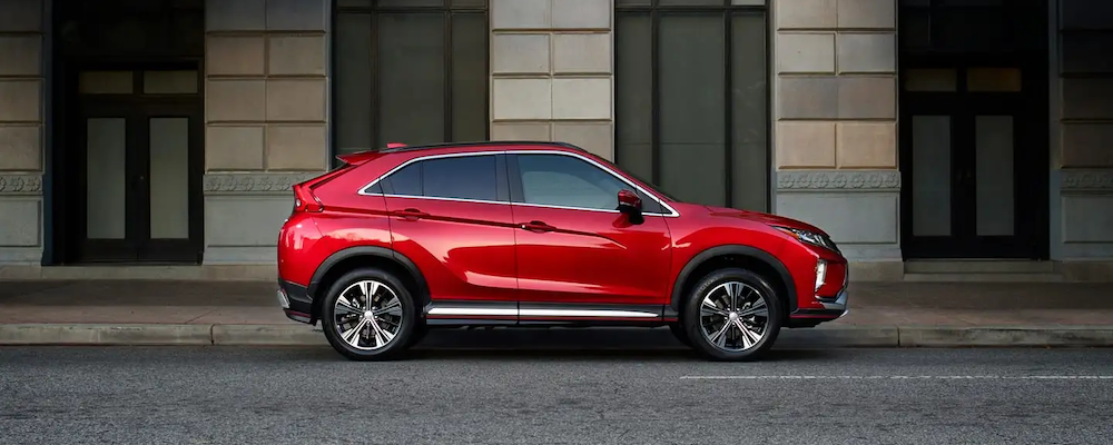 2019 Mitsubishi Eclipse Cross in profile