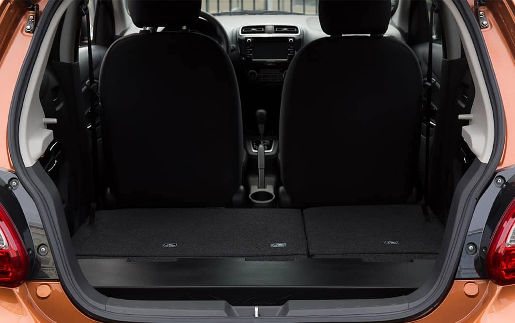 2019 Mitsubishi Mirage Cargo Space