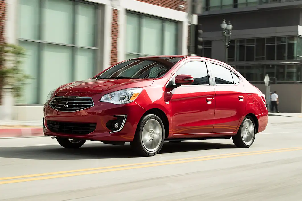 2019 Mirage G4 on the road