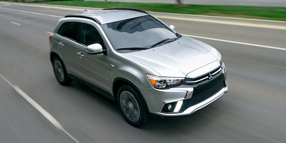 2019 Outlander sport on the road