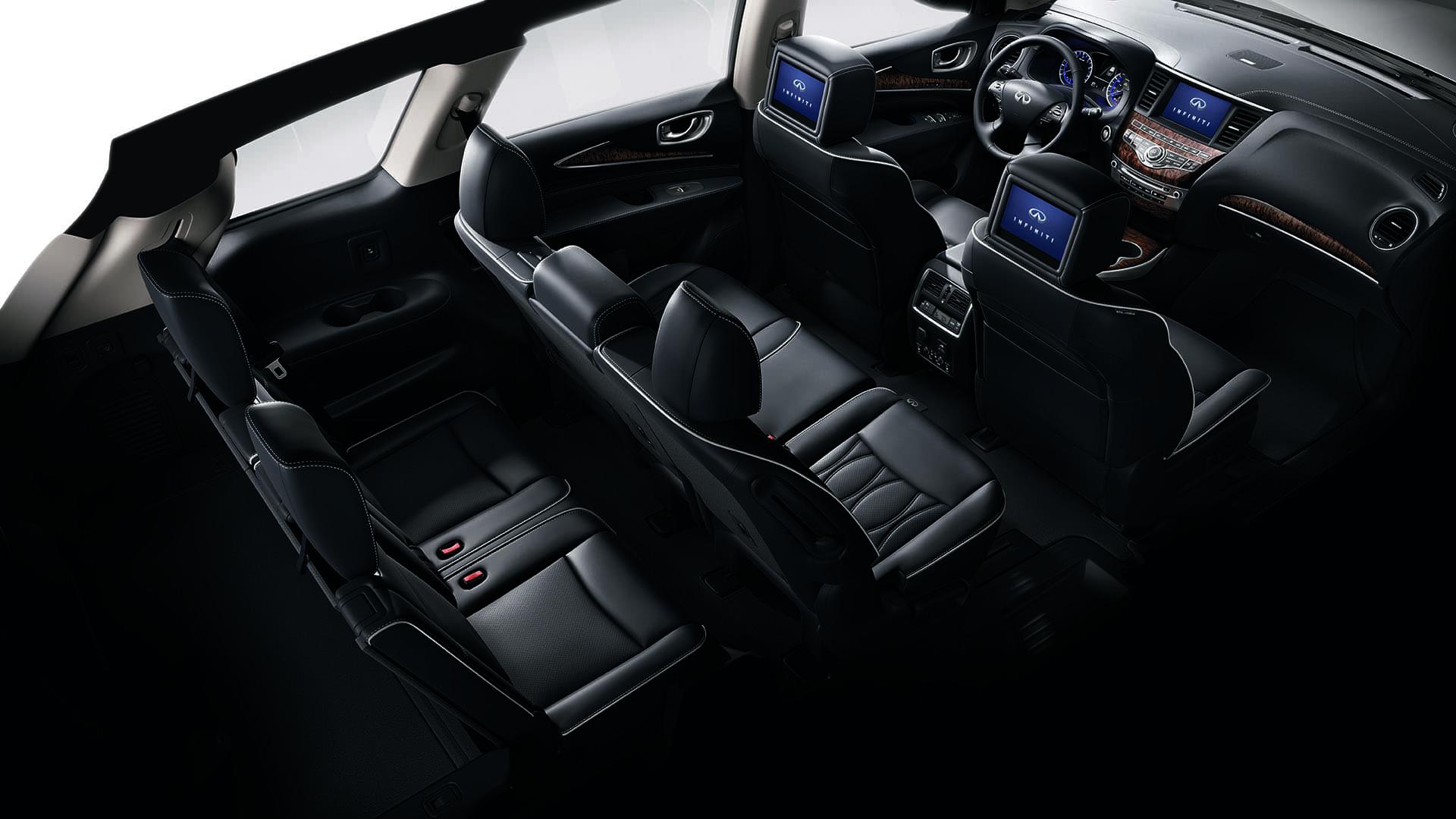 2020 INFINITI Qx60 Suv 3rd Row Seating View