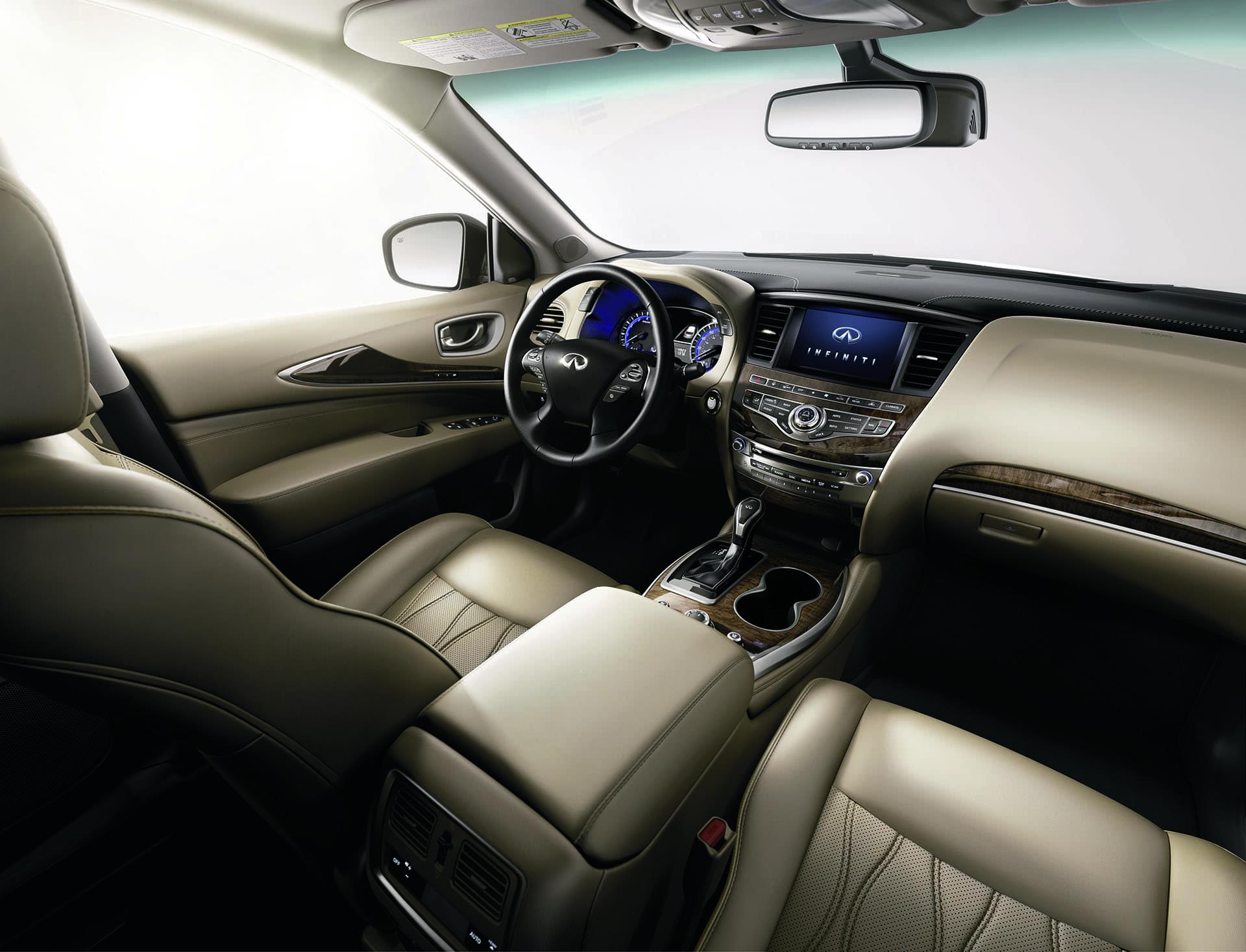 2020 INFINITI Qx60 Suv Interior View
