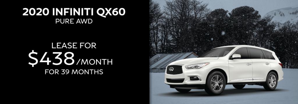 New 2020 INFINITI QX60 LUXE