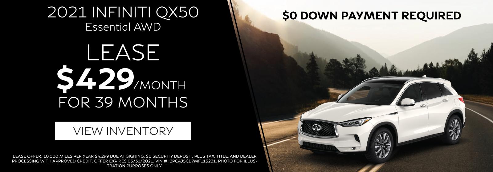 QX50-Homepage