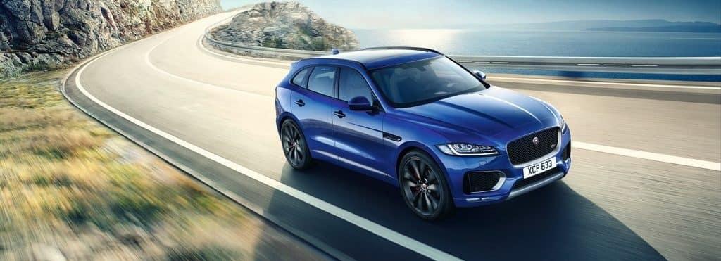 2019 Jaguar F-PACE Blue