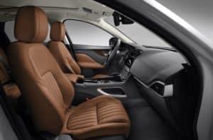 2019 Jaguar F-PACE Interior Technology