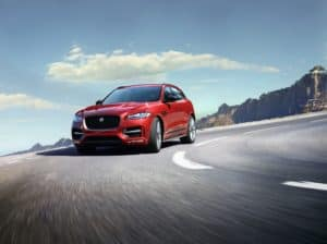 2019 Jaguar F-PACE Red