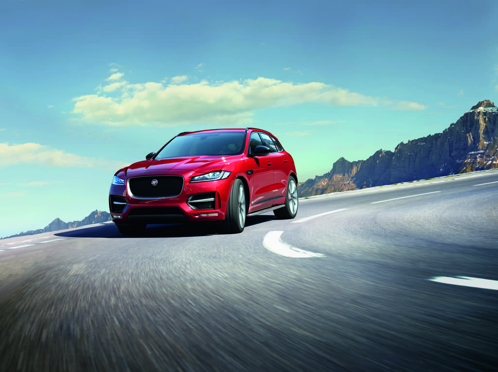 Jaguar F-PACE Performance
