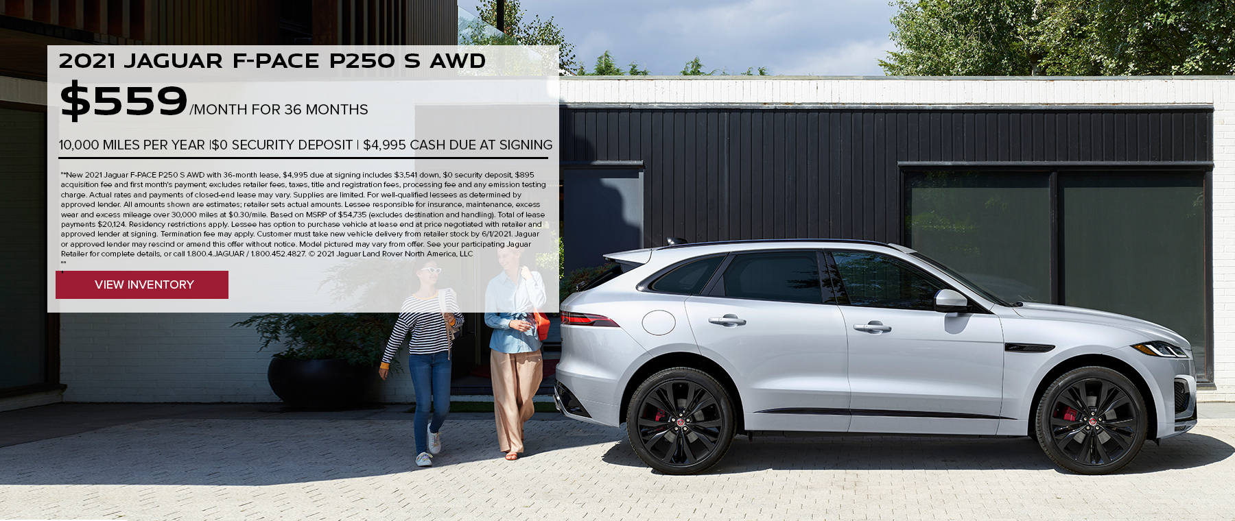 May 2021 F-PACE